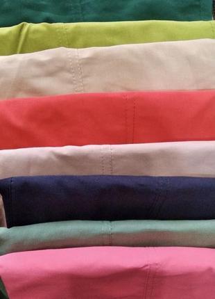 Легкие, удобные и стильные летние джоггеры с накладными карманами5 фото