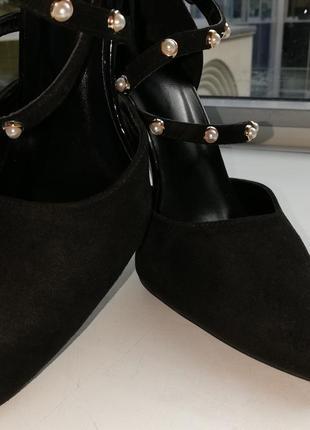 Туфли женские экозамша6 фото