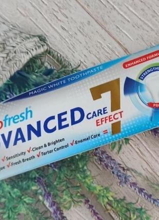 Зубная паста eurofresh advanced care
