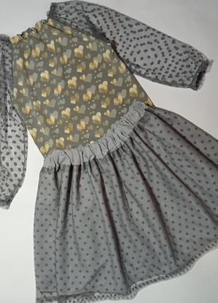 Набор юбка блуза для девочки