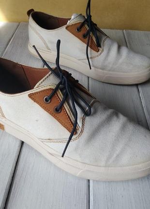 Джинсовые мокасины полуботинки туфли timberland оригинал