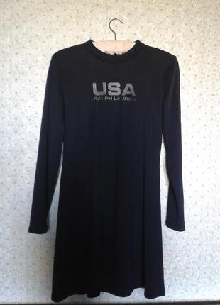 Базовое черное платье, ralph lauren , оригинал