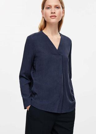 Блуза дорогого бренда cos