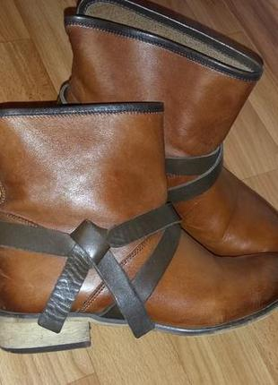 Кожаные ботиночки!