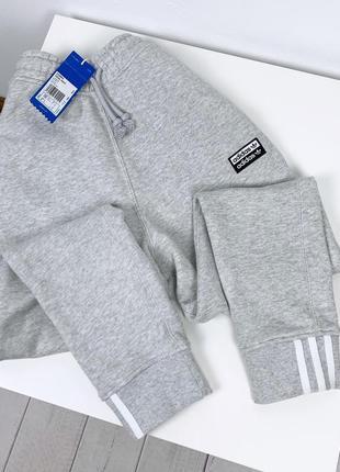 Спортивные штаны джоггеры adidas originals xs s m новые серые женские