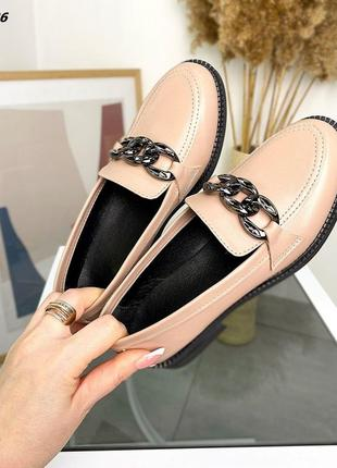 Шкіряні туфлі лофери, кожаные туфли  лоферы