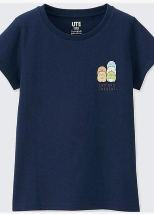 Детская стильная футболка из коллекции sumikko gurashi ut