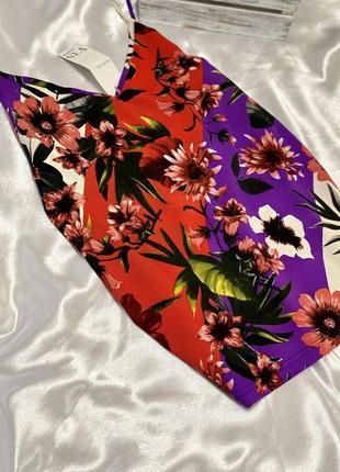 Новая яркая блуза, топ, майка vrs women 1+1=3