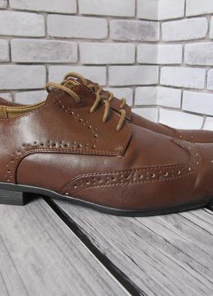 Туфли броги new look