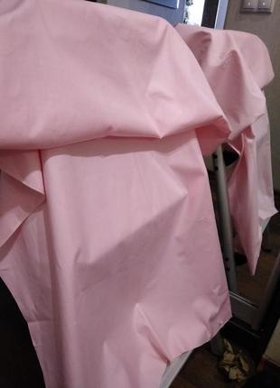 Отрез бельевого хлопка плотного шелковистого винтаж