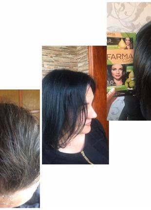 Крем-фарба для волосся farma color фармасі фармаси