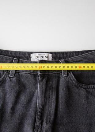Джинсовая юбка new look дорогой серый цвет6 фото