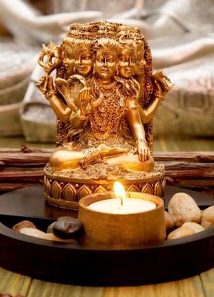 Сувенир буддийский  шива + подсвечник