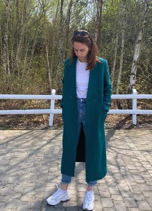 100% шерсть пальто весна