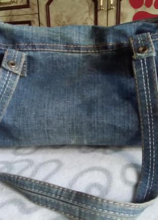 Сумка джинсовая2 фото