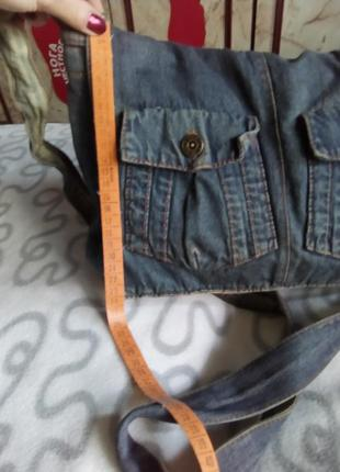 Сумка джинсовая7 фото
