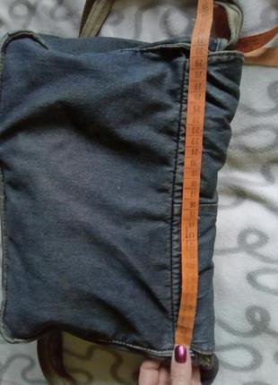Сумка джинсовая6 фото