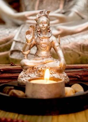Буддийский сувенир шива + подсвечник