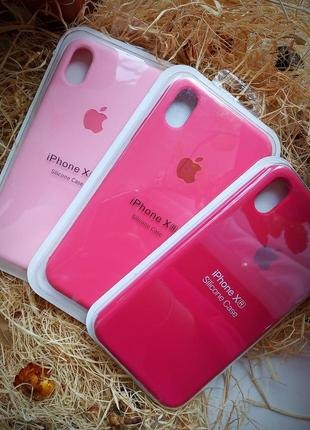 Чехол на iphone xr в розовых тонах 🍭🌸🌺