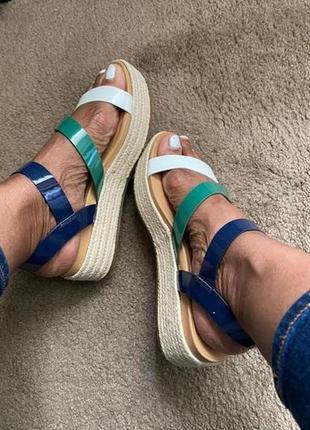 Босоножки, сандалии удобные разноцветные tommy hilfiger