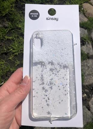 Новый чехол 🤍sinsay iphone x/xs