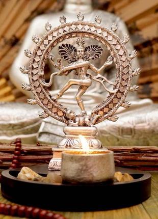 Сувенир буддийский натарадж + подсвечник