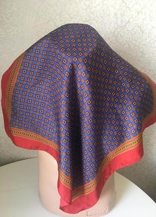 Немецкий мужской шелковый платок codello 54*52