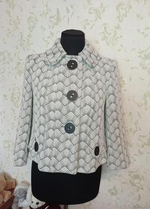 Жакет пиджак укороченный tailored by next