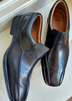 Кожаные туфли clarks, 8g,вьетнам