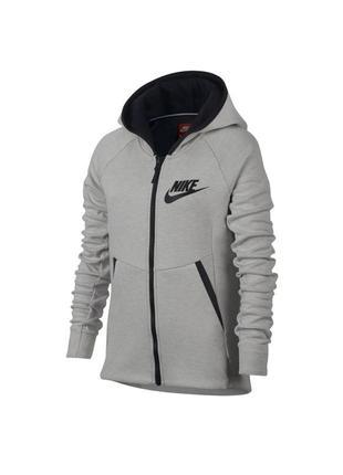 Толстовка nike tech fleece hoodie full zip  859993-072