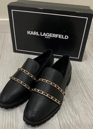 Стильные лоферы karl lagerfeld (оригинал)