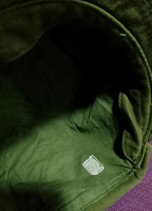 Стильная катоновая кепка, хаки.5 фото