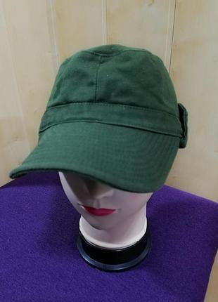 Стильная катоновая кепка, хаки.2 фото