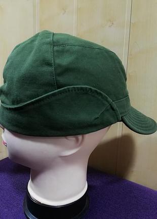 Стильная катоновая кепка, хаки.3 фото
