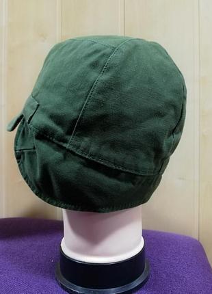 Стильная катоновая кепка, хаки.6 фото