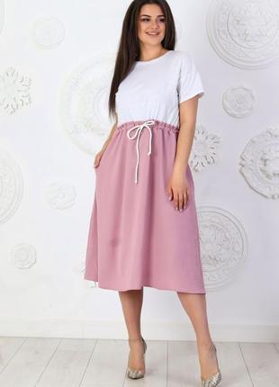 Платье в расцветках р. 50-56