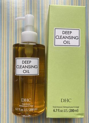 Dhc deep cleansing oil - гидрофильное масло для снятия макияжа {200 мл}