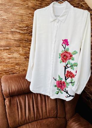Рубашка натуральний льон🔥