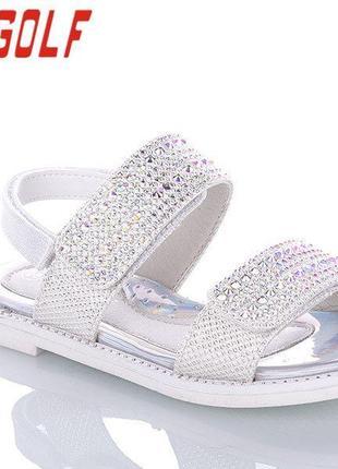 Модные летние босоножки для девочек 95053 jonggolf  размеры 32- 37