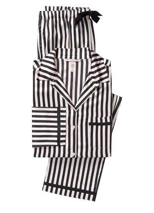 Сатиновая пижама victoria's secret виктория сикрет
