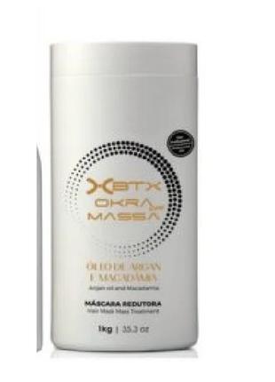 Ботокс для волос xbtx okra massa 1000 мл.
