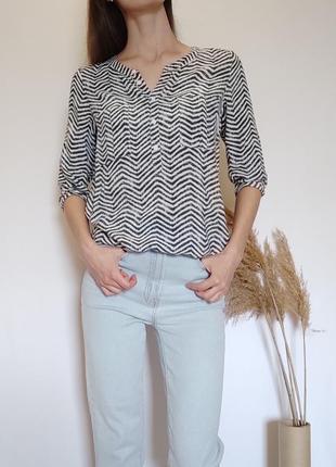 Блуза из вискозы, рубашка вискоза