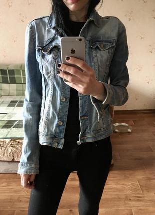 Куртка джинсовая/джинсовка clark's