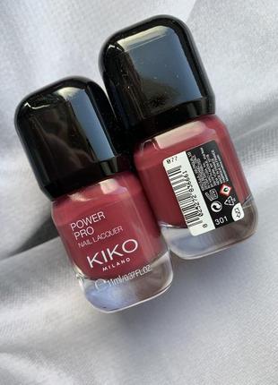 Стойкий лак для ногтей kiko milano power pro