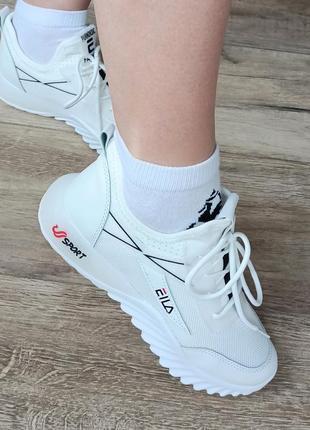 Женские кроссовки. белые кроссовки.  кроссовки подрастковые на девочку