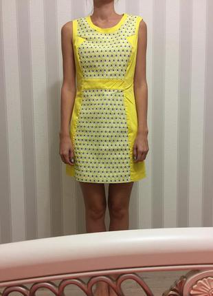 Летнее яркое платье kira plastinina1