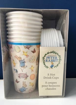 Набор стаканов серии peter rabbit beatrix potter