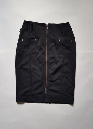 Стильная юбка на молнии с высокой посадкой,классическая юбка,юбка на молнии,юбка карандаш