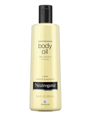 Масло neutrogena body oil 250 ml