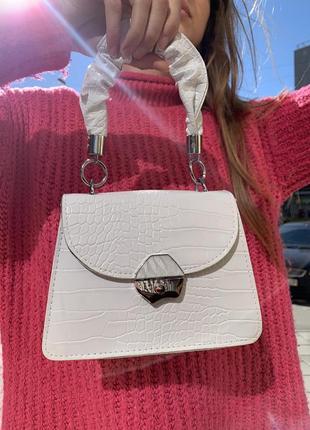 Ідеільна біла сумочка 🤍